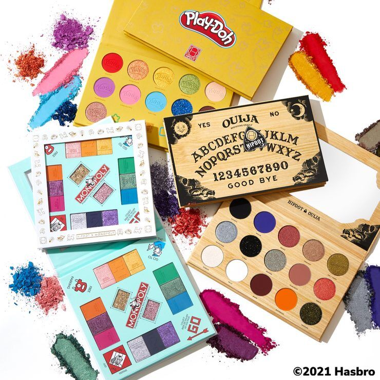 Board Game-Inspired Eyeshadows