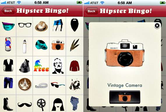Interactive Hipster Games