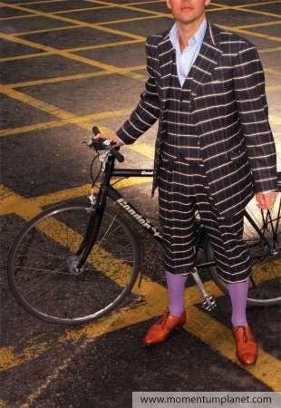 Hipster Cycling Fashion