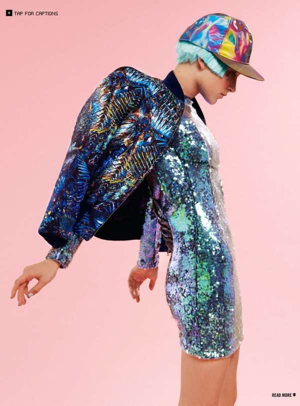 Futuristic Pastel Fashion