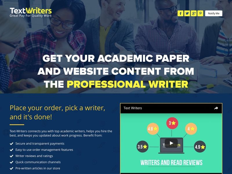 Freelance Writing Portals