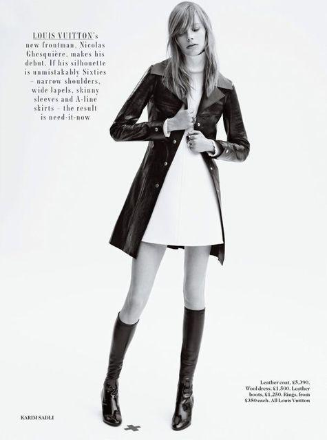 Opulent British Outerwear Editorials