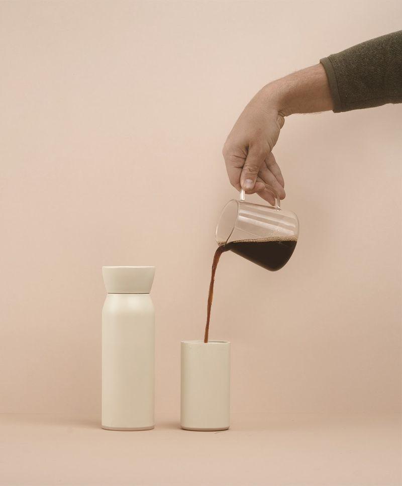 Hybrid Coffee Water Bottles