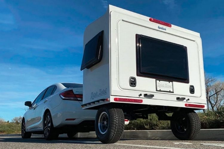 Telescoping Camping Trailers