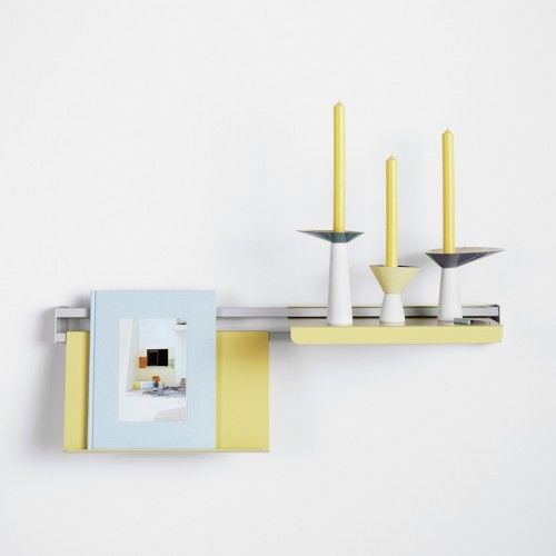 Adjustable Wall-Mounted Shelves