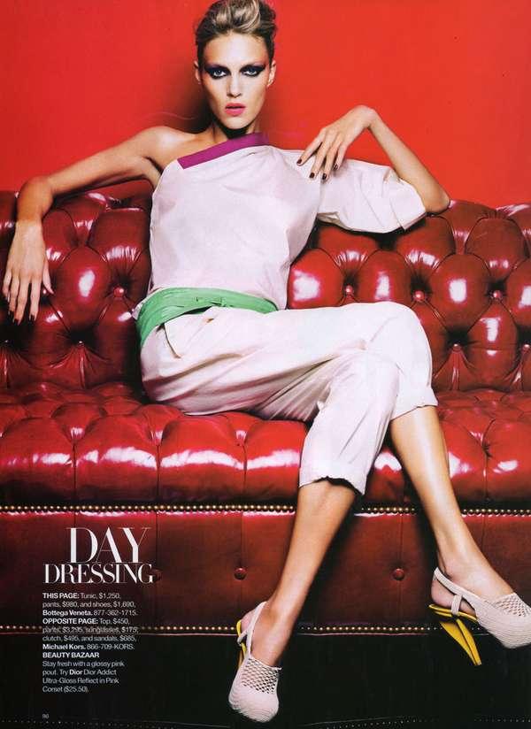 Edgy Daywear Editorials