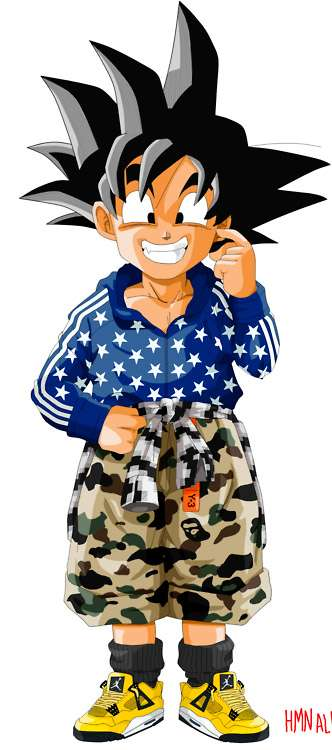 Anime Characters A Z : Fashionable anime characters hmn alns dragon ball z