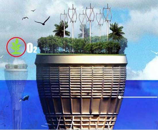 Self-Sufficient Underwater Architecture