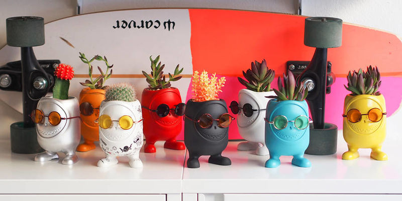 Personalized Monster Planters