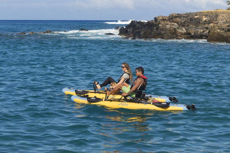 Inflatable Low-Profile Kayaks