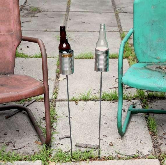 Homemade Hillbilly Drink Stands
