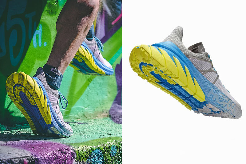 Extended Heel Running Shoes