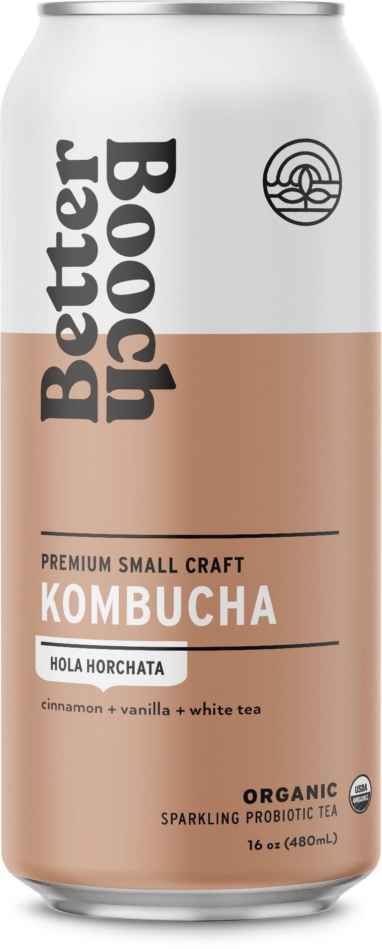 Horchata-Inspired Kombuchas
