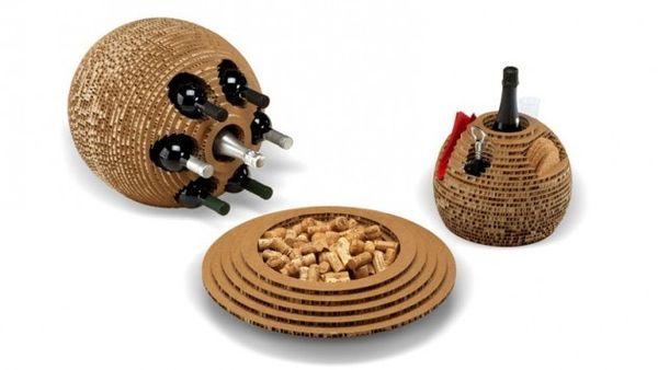 Beehive-Like Wine Sets