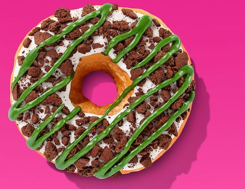 Festive Brownie Crumb Donuts