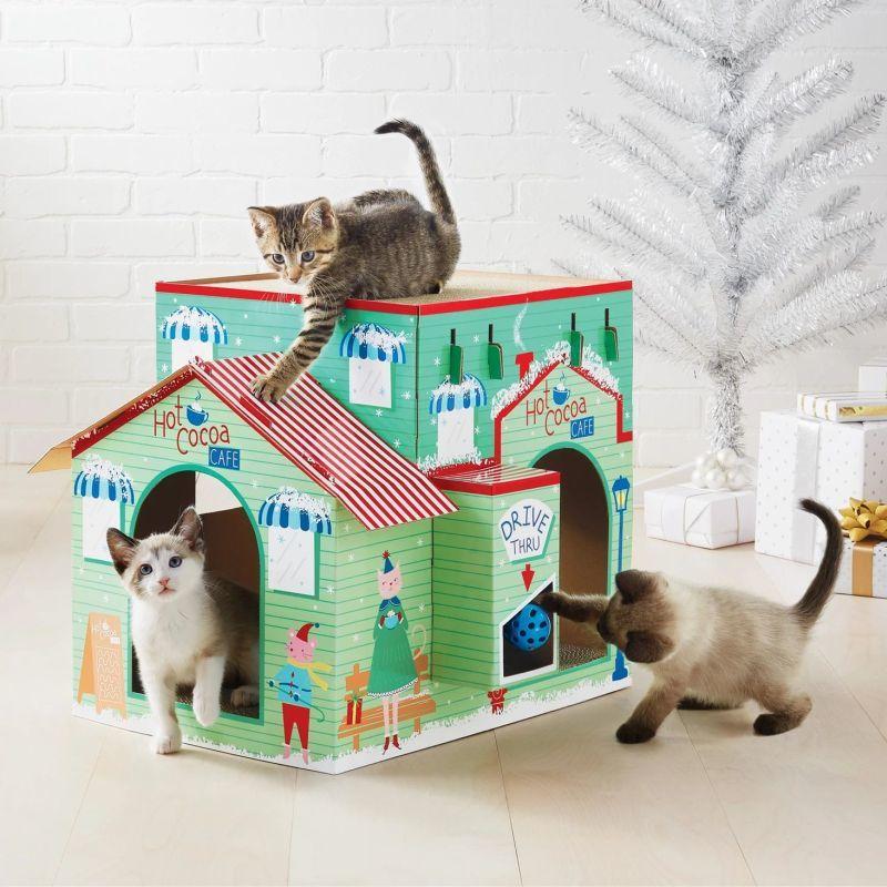 Seasonal Feline Furniture