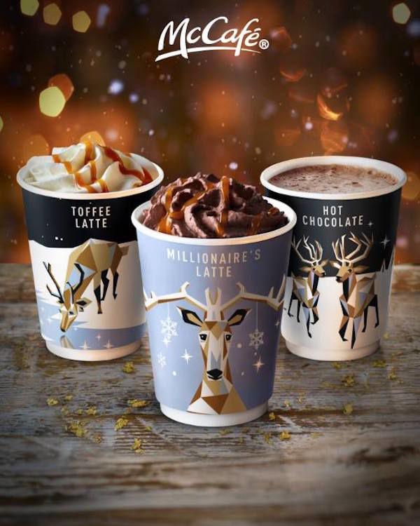 Reindeer Holiday Cup Designs