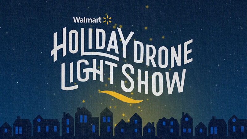Holiday Drone Light Shows