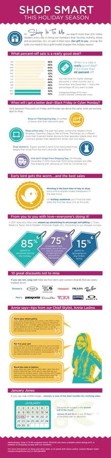 Black Friday Bargain Infographics