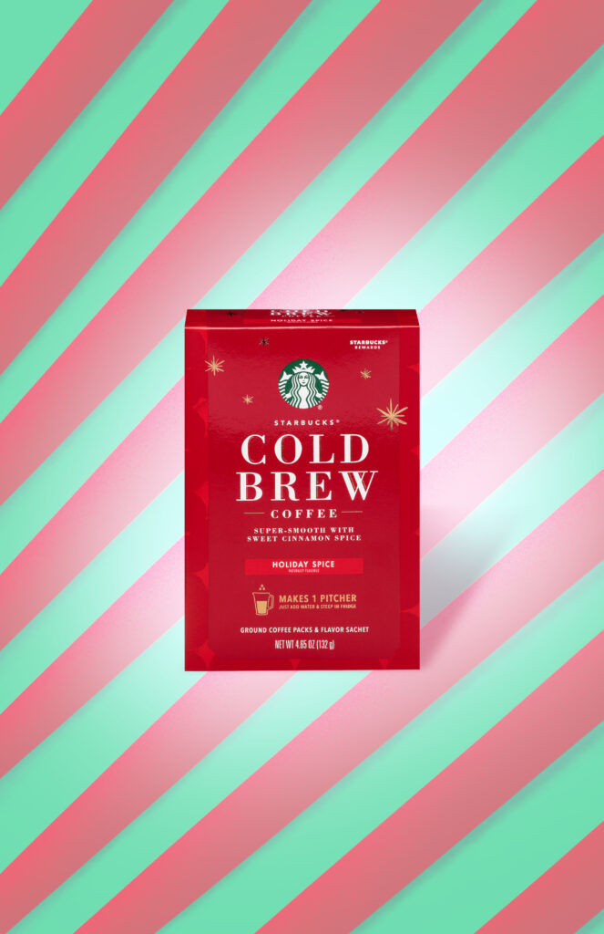 Festive Cold Brew Packets