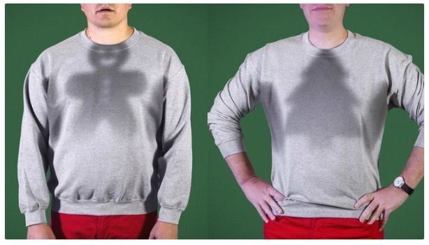 Sweaty Holiday Sweatshirts