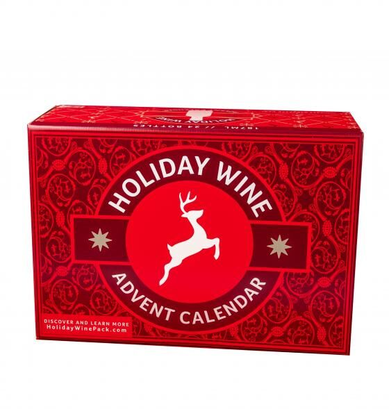 Wine-Packed Advent Calendars