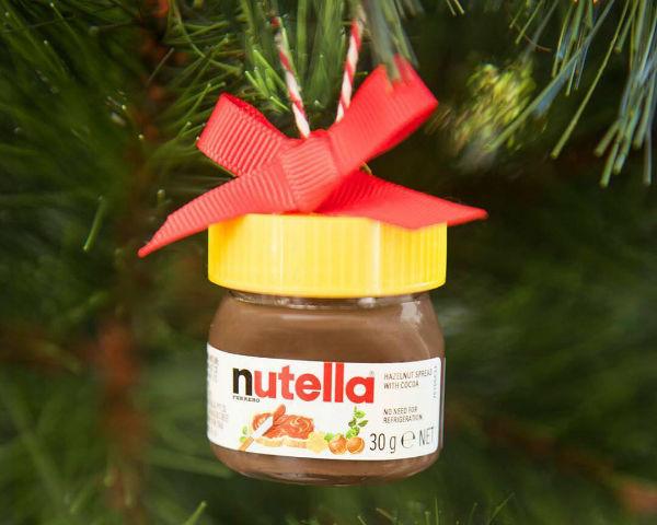 Festive Chocolate Spread Ornaments