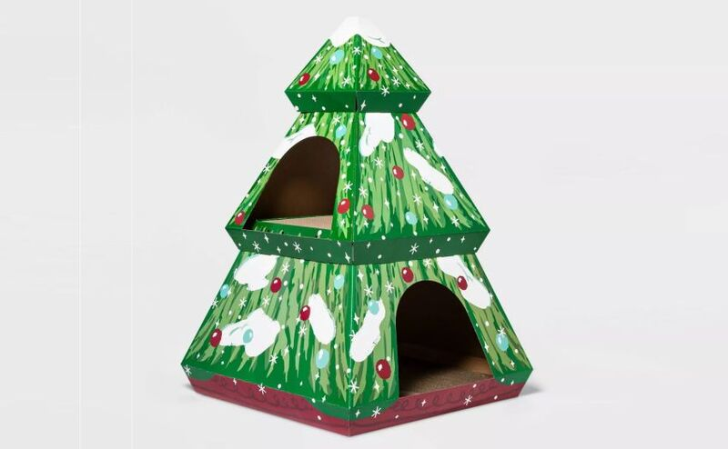 Holiday-Themed Cat Houses