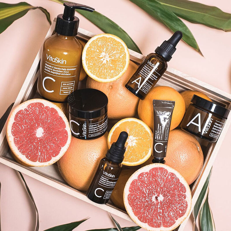 Vitamin-Enriched Vegan Skincare