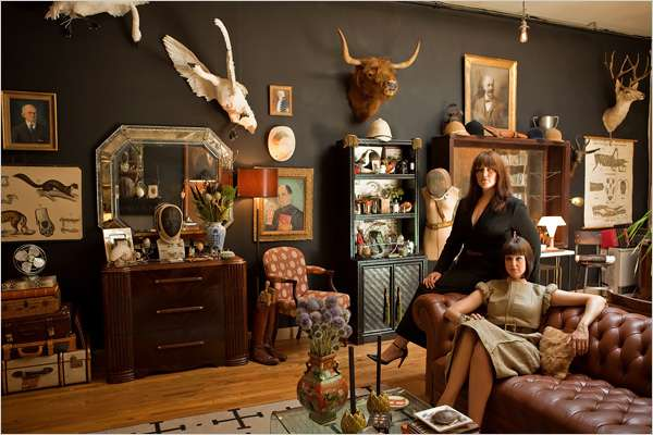 personal steampunk museums hollister porter hovey turn home into vintage victorian wonderland. Black Bedroom Furniture Sets. Home Design Ideas