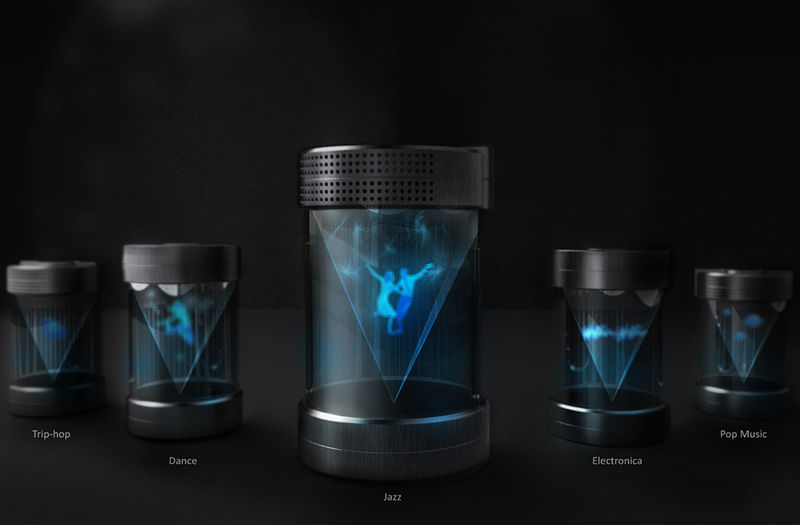 Holographic Projection Speakers