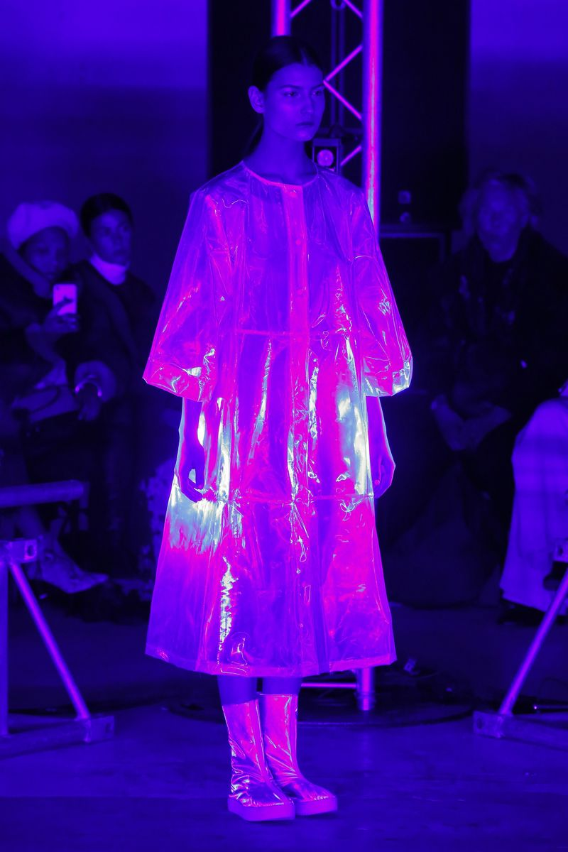 Fashionable Holographic Coats