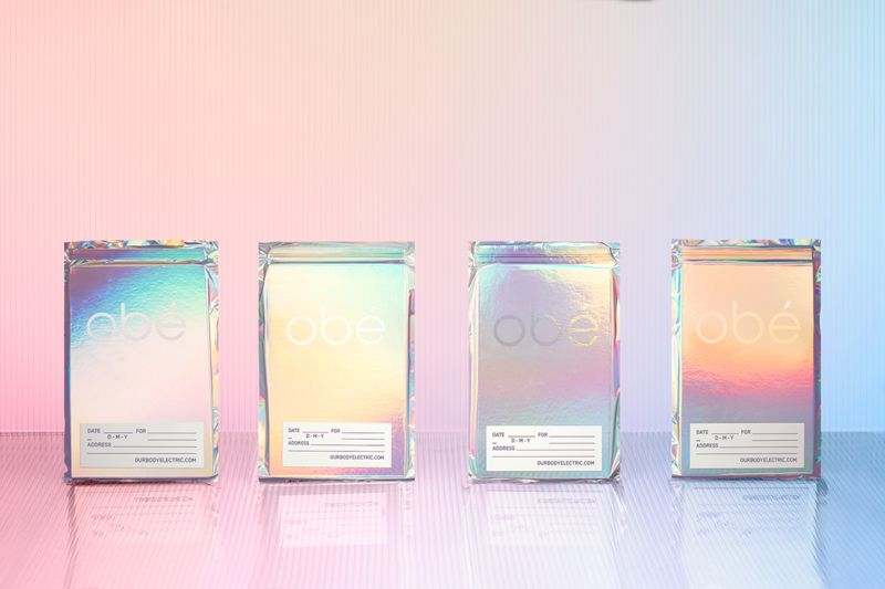Whimsical Holographic Design Identities