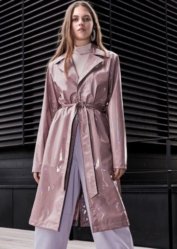 Holographic Transitional Coats