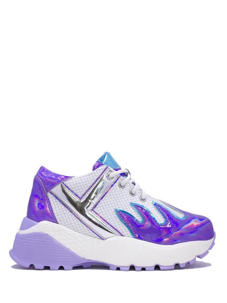 Fiery Holographic Sneakers
