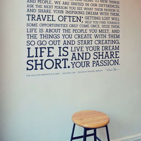 Life-Affirming Wall Decals