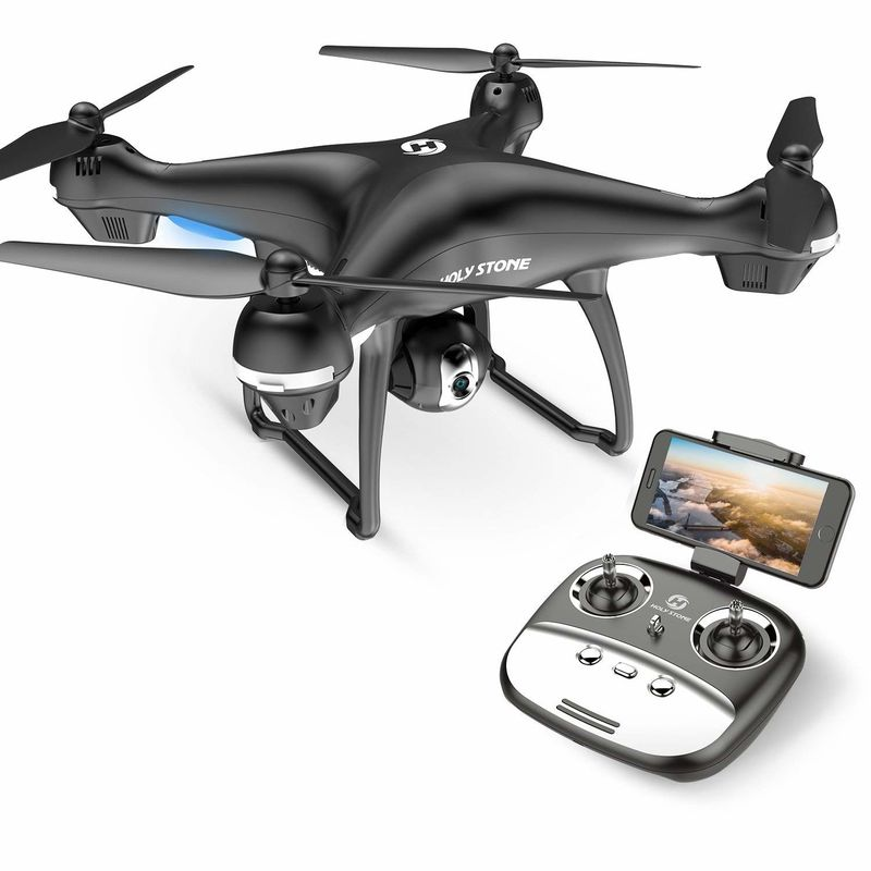 Live-Streaming GPS-Enabled Drones