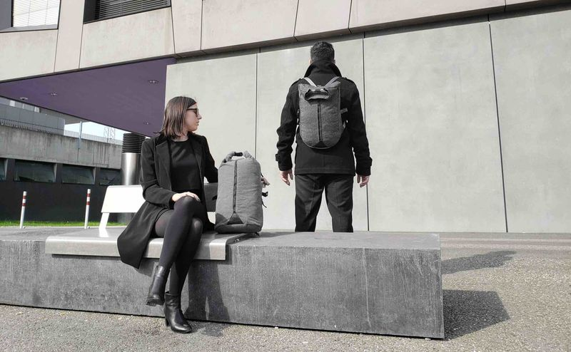 Recycled Three-in-One Backpacks