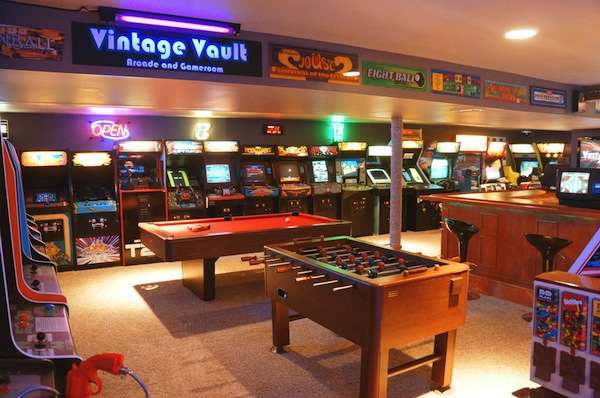 Awesome Basement Gamer Arcades