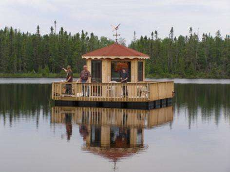 Home-Built Pontoon Boat