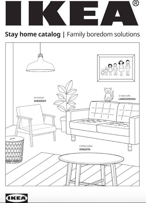Furniture Activity Catalogs