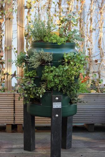 Composting Vertical Gardens