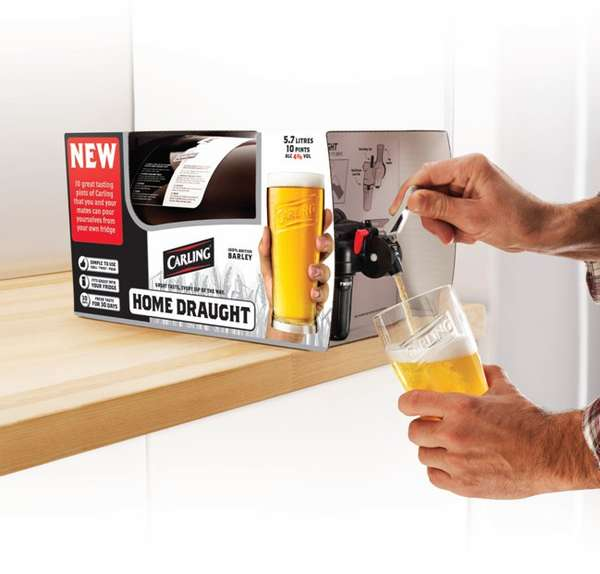 Portable Mini Kegs Home Draught Beer Technology