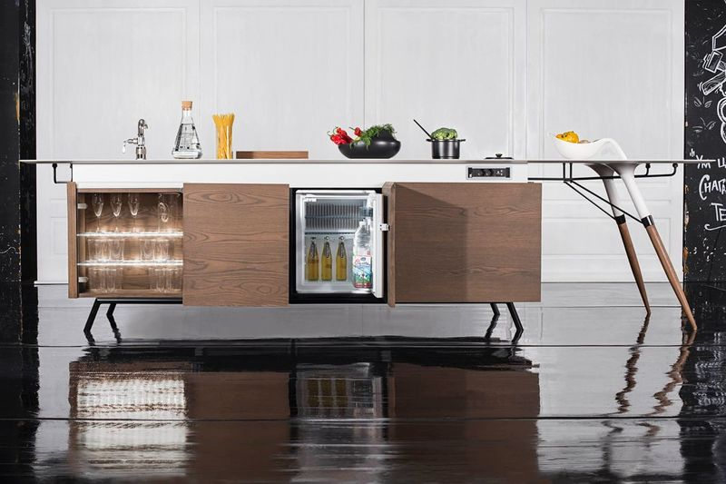 All-in-One Kitchen Units