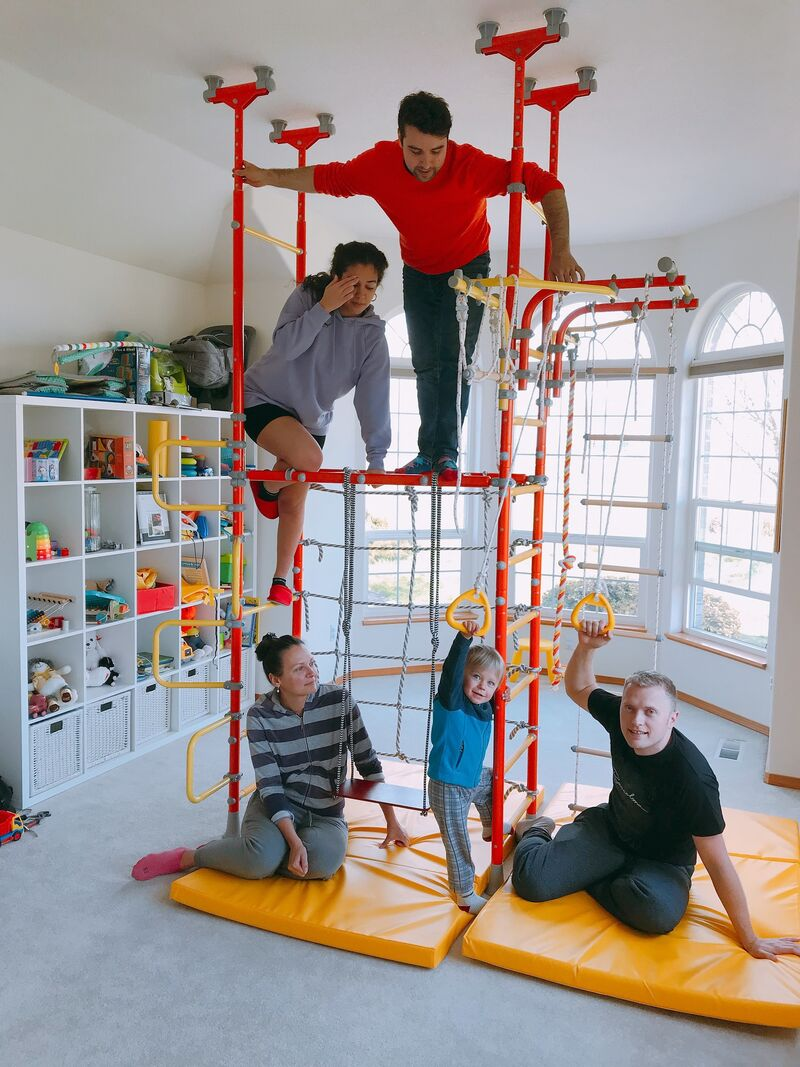 At-Home Play Gyms