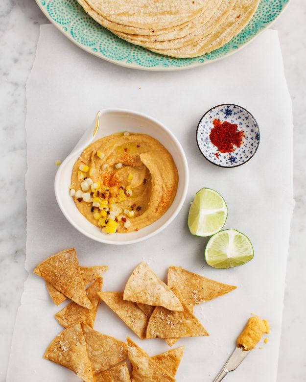 Smoky Corn Hummus Recipes