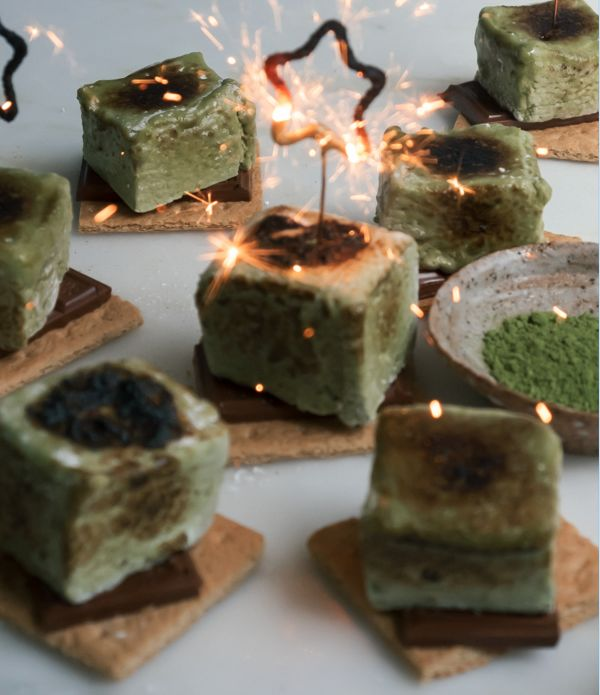 Matcha S'more Recipes