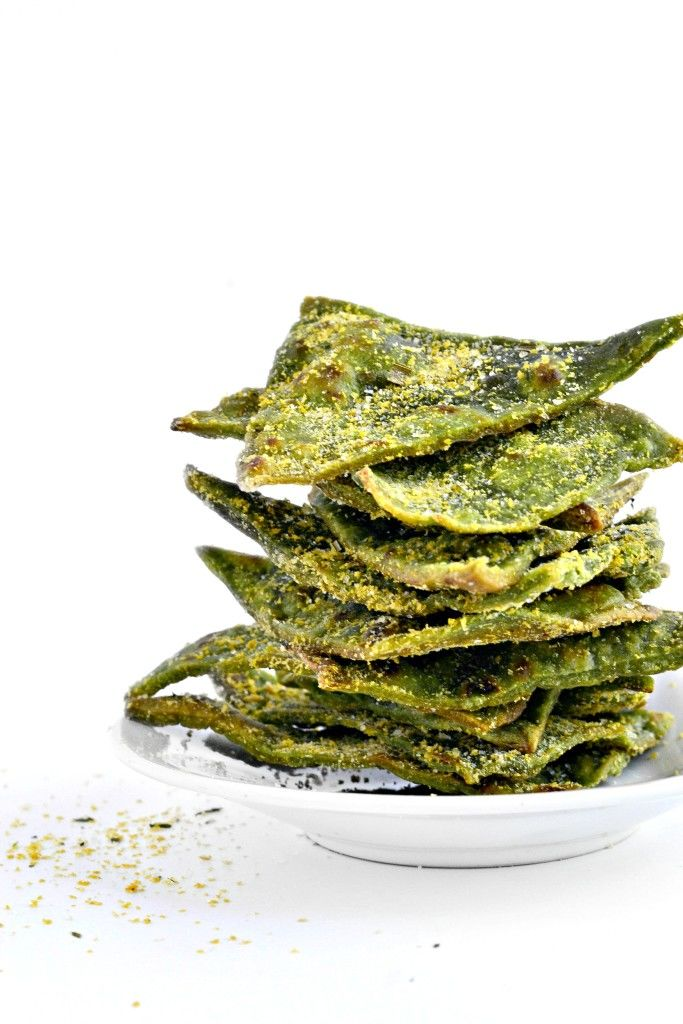DIY Spinach Chips