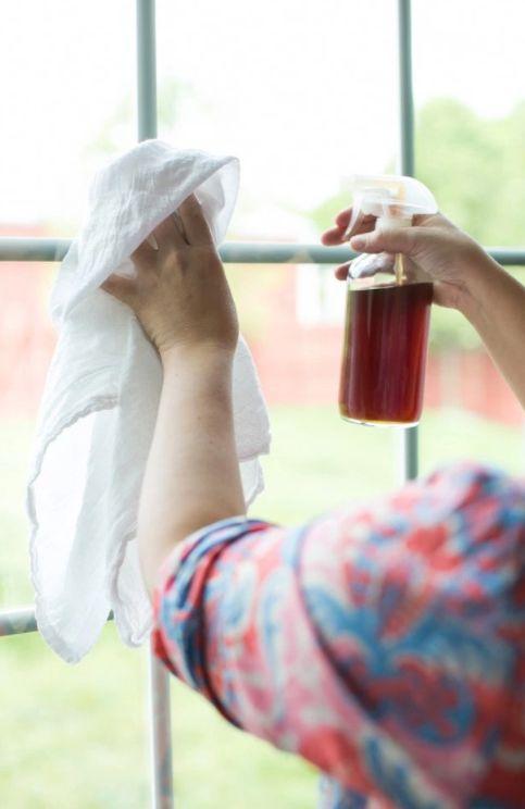 Tea-Based Window Cleaners
