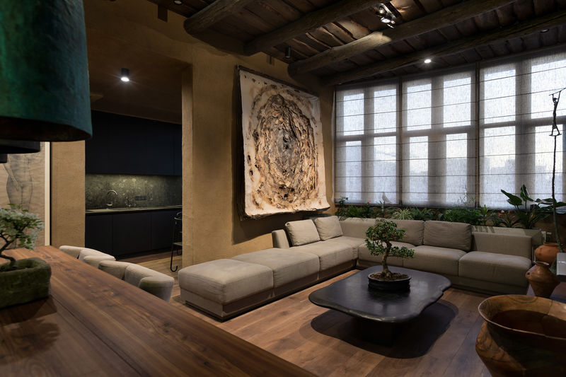 Culture-Blending Homey Interior Designs